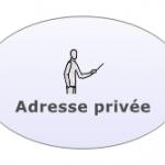 Adresse privée